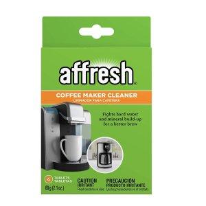 $4.74 Affresh W10511280 Coffeemaker Cleaner - 4 Tablets