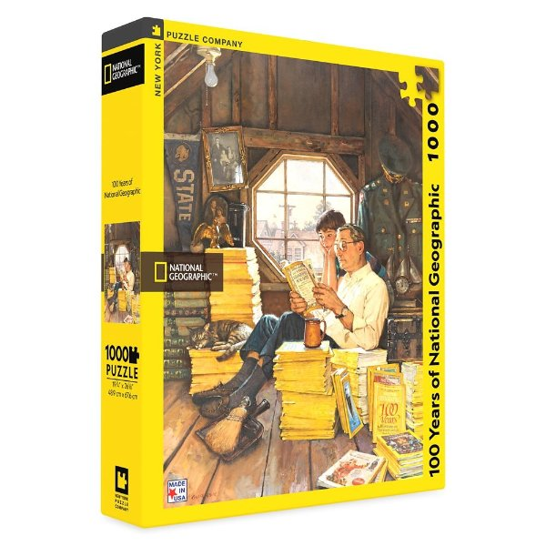 100 Years of National Geographic 国家地理百年拼图