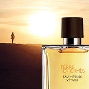 $74.28(原价$95) 木质香调Hermes 男士大地香水75ml 7.7折热卖