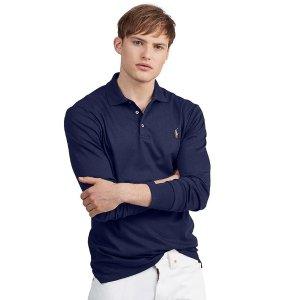 长袖polo衫