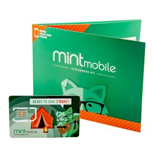 $20Mint Mobile: 3-Mo. Unlimited Talk/Text/8GB LTE Plan