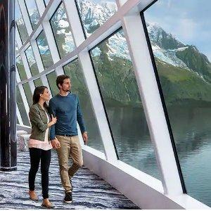 $499起诺唯真游轮 8天阿拉斯加冰川行程 西雅图往返
