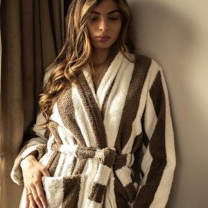 低至6折 纯棉款仅€24Amazon 人类高质量浴袍专场 享受高质量洗浴体验