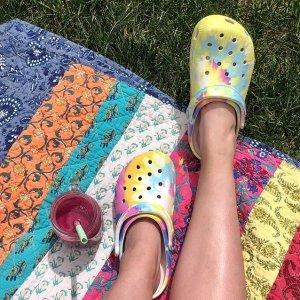 低至5折 €20就能入手!Crocs 清爽舒适的洞洞鞋大促啦 成人、儿童款都有哦