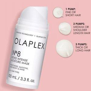 仅€28.45+满额好礼上新:OlaplexNO.8高浓缩修复发膜来啦 秀出你的靓发