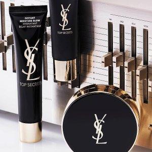 购物满£60赠豪华眼妆明星产品三件套YSL 官网购物赠好礼 小金条、圆管色号超全