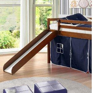 $239 起儿童带滑梯双层床