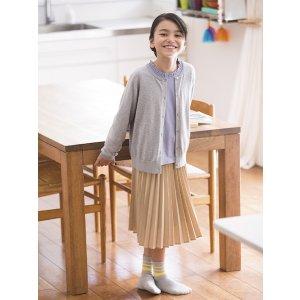 Uniqlo女童长袖编织衫,多色选