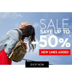 低至5折 £38起收超耐用双肩包上新:Kipling 春日大促 高品质美包好价入 收可爱小猩猩啦