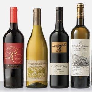 $39.99 一瓶仅$5WSJ Wine 精选8瓶葡萄酒划算收,立省$125