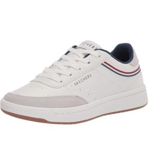 $33.9起(原价$90)Skechers 斯凯奇 女士休闲小白鞋 黄金码US6 经典百搭配色
