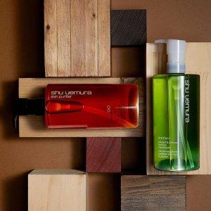 低至6.4折+满额送卸妆油3件套独家:Shu uemura 明星产品折上折 收卸妆油、小灯泡气垫