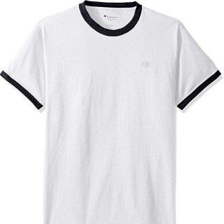 $5.06+Prime包邮!白菜价:Champion Classic 纯色小Logo运动T恤 女生入小码