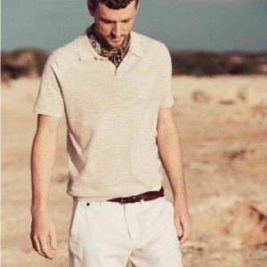 4折起+额外8折 封面短袖$36最后一天:The Bay 浅色系男友 干净气质惹人爱 沙漠靴$64