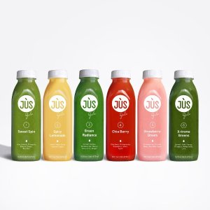 jus by julie3 Day JUS Cleanse + 3 Free Boosters + Free Cooler Tote