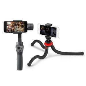 DJI Osmo Mobile 2 Handheld Smartphone Gimbal - With FotoPro UFO 2 Flexible Tripod
