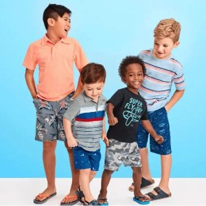 60-80% Off + Free ShippingThe Children's Place Kids Shorts Summer Sale