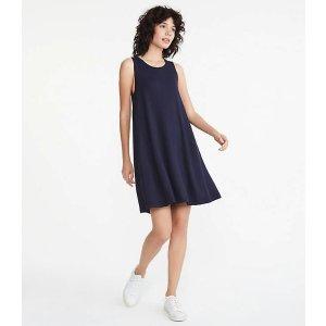 LOFTLou & Grey Signature Softblend Lite Swing Dress   LOFT