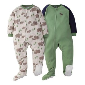 3f93ab9066 Gerber Boys  2-Pack Blanket Sleeper   Amazon - Dealmoon