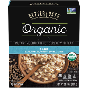 Better Oats 有机原味即食麦片 11.8oz 6盒