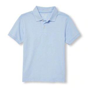 The Children's PlaceBoys Uniform Short Sleeve Pique Polo