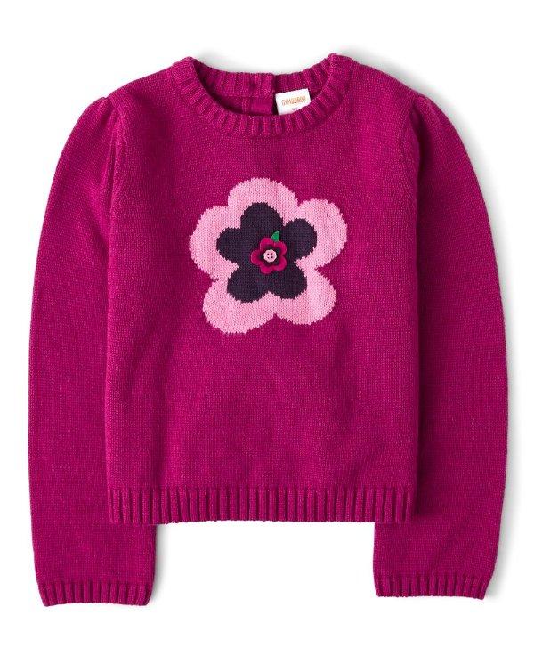女童针织衫