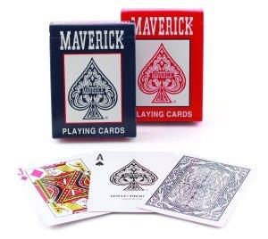 $0Bicycle Standard Index Maverick Playing Cards