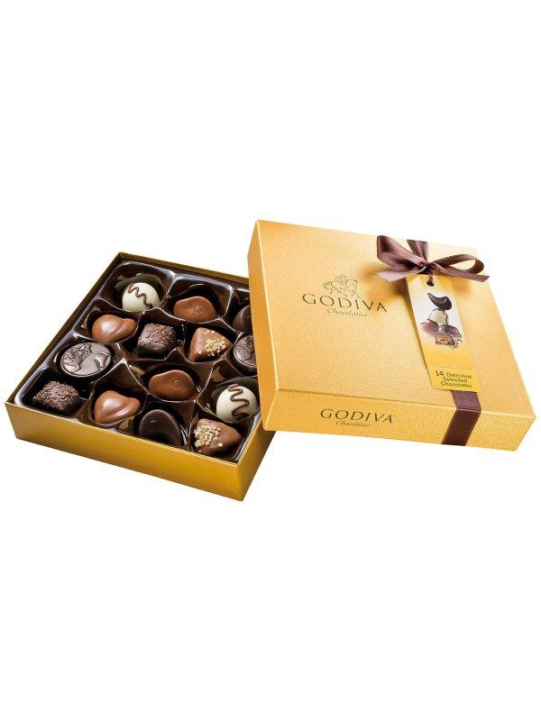 Godiva金盒装巧克力, 165g
