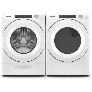 WhirlpoolFront Load Steam WFW5620HW 27