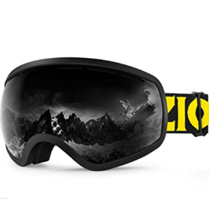 $13ZIONOR X10 Ski Snowboard Snow Goggles OTG for Men Women Youth Anti-fog UV Protection Helmet Compatible