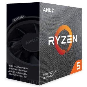 $234.48(原价$284.59)AMD Ryzen 5 3600 6核 7nm Zen2架构处理器