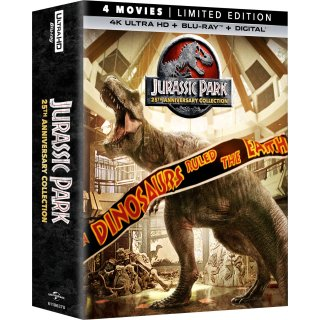 低至$19.99《侏罗纪公园》4部蓝光电影合集