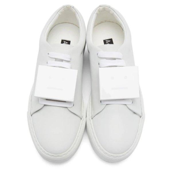 囧脸小白鞋