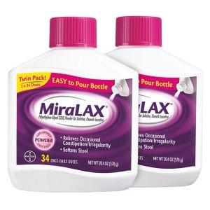 Miralax Powder Laxative, 68 Doses
