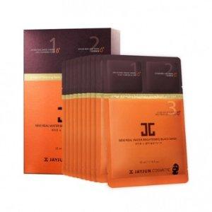 JAYJUN二代黑色水光针3D面膜三部曲面膜10片一盒