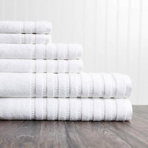 ADIShocking ValuesBurke 6-Piece Towel Set (Assorted Colors) - Sam's Club