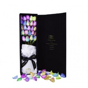 包含铭牌雕刻无悔-奇迹 鲜花礼盒