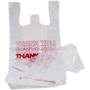 $23.64 仅$0.07/个小卖部营业啦!TashiBox 塑料购物袋 308件套 循环使用