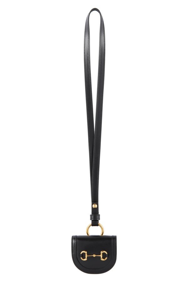 黑色 'Gucci 1955' 马鞍包造型 AirPods 保护壳