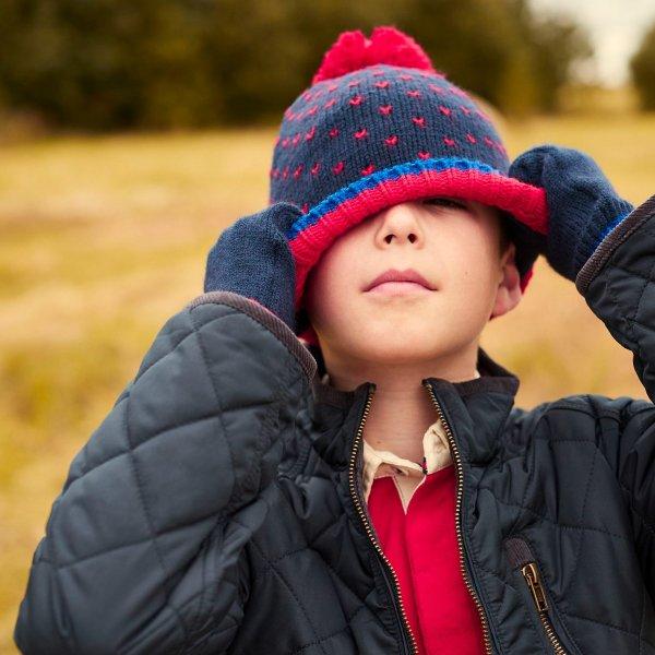 儿童针织帽