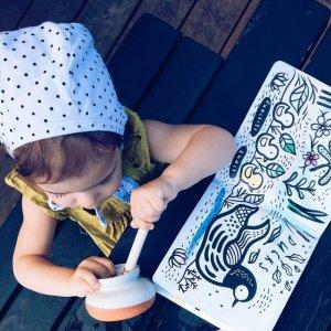 8折 安全变色书,让洗浴更有趣新品上市:Wee Gallery 幼儿变色书、音效书等儿童产品特卖