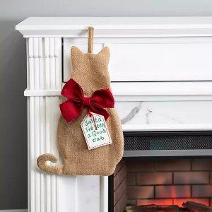 猫咪专属圣诞礼物袜