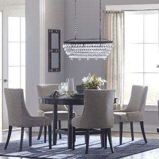 allen + roth Eberline Crystal Tiered Chandelier