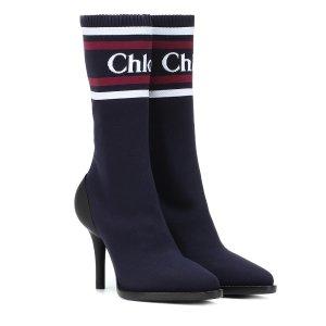 CHLOElogo 袜靴