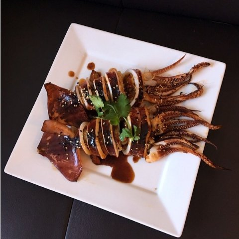 Creative Way to Cook RiceStuffed Squid with Sticky Rice