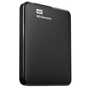 $95.2( 原价$160 ) + 回国可退税史低价:WD 西部数据 Elements 新元素移动硬盘 2T