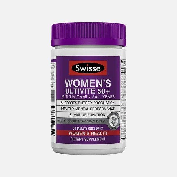 女士50+ 每日复合维生素,60粒