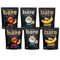 Bare Natural三种口味水果脆片 6包