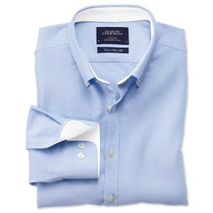 08d0f1d1 Charles Tyrwhitt 伦敦高端商务男士经典半定制衬衫热卖衬衫4件$108+免 ...