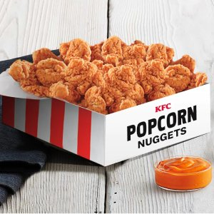 For Only $10KFC Extra Large Popcorn Chicken Nuggests Box